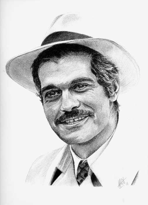 Omar Sharif by ARitz